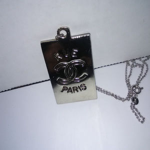 Vintage Chanel Pendant Charm from Chanel Belt